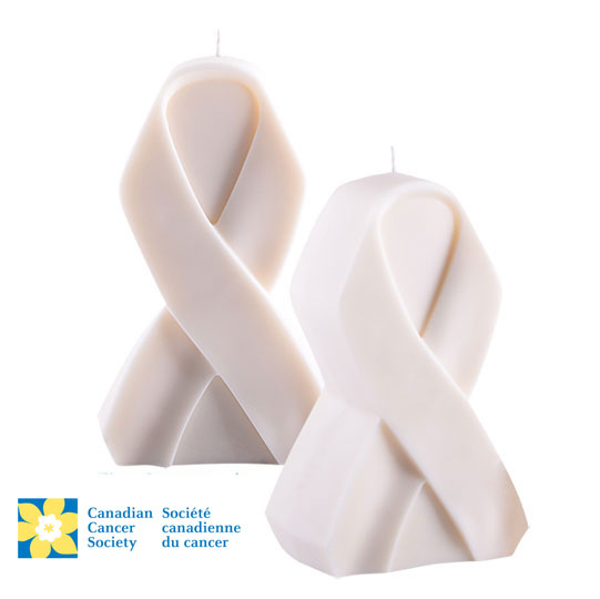 White candle canadian cancer society