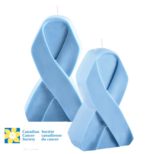 Turquoise candle canadian cancer society